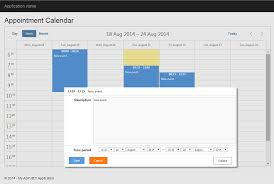 bootstrap templates for mvc 4 7 steps to appointment calendar template in asp net mvc5 scheduler docs