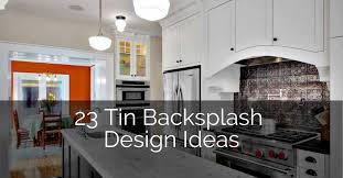 kitchen backsplash pictures cabinets 23 tin backsplash design ideas for your kitchen sebring