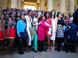 eye for miss south africa celebrates africa day with