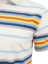 bench mens polo t shirt u0027margam u0027 yarn dye stripe short sleeved