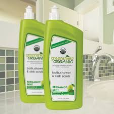 24 oz bath shower u0026 sink scrub greenshield organic