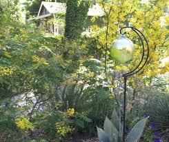 Gazing Ball Fountain Garden Glass Ball Free The Air Garden Design Urban Glass Ball