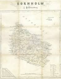 Map From File Bornholm Map From Early Xix Century Png Wikimedia Commons