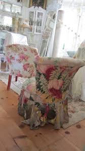 Diy Armchair Decorating Shabby Chic Slipcovers Diy Chair Slipcover Diy