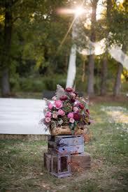 Log Vases South Jersey Wedding Florist Sarah U0026 Brett At Their Private
