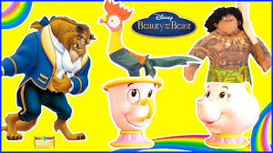beauty and the beast surprise toys