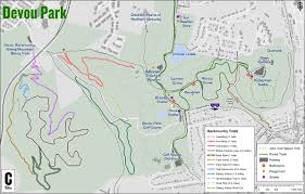 Map Of Ohio And Kentucky by Devou Park Trails Map Devou Park Trails
