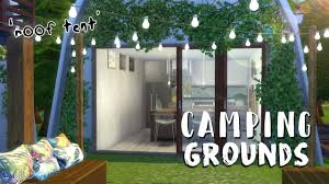 the sims 4 speed build camping grounds u0027roof tent u0027 youtube