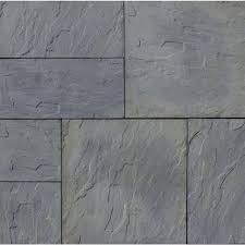 Slate Patio Pavers Patio Pavers Hardscapes The Home Depot Slate Patio Ez Ideasez