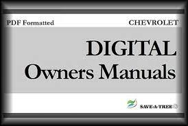 car manuals free online 2007 chevrolet impala instrument cluster 2004 chevy chevrolet impala owners manual download manuals am