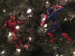 nothing says christmas without batman v superman and civil war