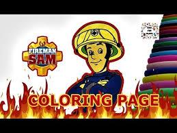 fireman sam coloring book fireman sam coloring games