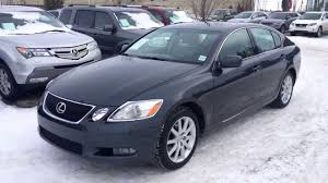 lexus models 2005 pre owned 2006 lexus gs 300 awd review calgary youtube