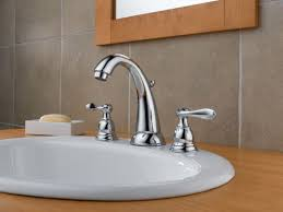 new chrome finish 2 handle delta windemere bathroom sink delta b3596lf chrome windemere widespread bathroom faucet with pop