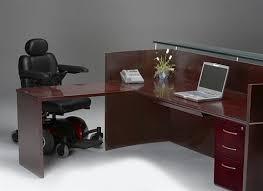Ada Reception Desk Wheelchair Accessible Ada Compliant Reception Desk Nrslba By Mayline