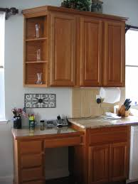desk in kitchen design ideas