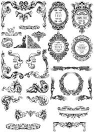 200 free vintage ornaments frames and borders vintage