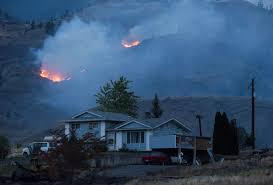 Prince George Bc Wildfire help floods in as b c wildfires force evacuation of 37 000 people