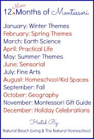 12 more months of the best montessori activities natural beach