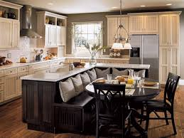 ebony wood orange zest lasalle door kitchen islands with seating