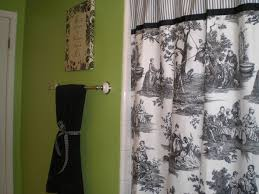 Red White Shower Curtain Lime Green Bathroom With Black White And Red Accents The Toile