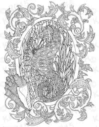 seahorse underwater coloring page gift wall art ocean