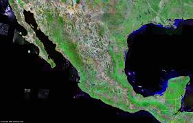 Map Of Old Mexico by Mexico Map And Satellite Image