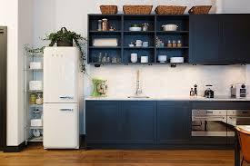 Navy Blue Kitchen Decor Navy Kitchen Cabinets Brilliant Inside Wood Countertops Gray