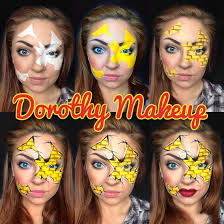 step by step dorothy wizard of oz makeup so gonna be my bout day