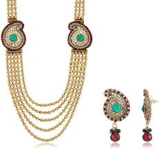 buy traditional jewellery set for gold s vs 029