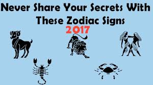 never share your secrets with these zodiac signs horoscope