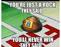 Pet Rock Meme - spongebob on pinterest patrick star quote and pet rocks funny