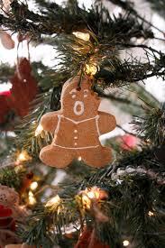 salt dough gingerbread ornaments