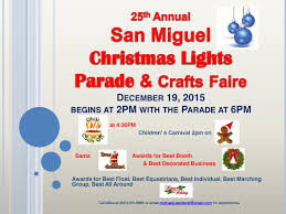 come see mission street light up this saturday san miguel