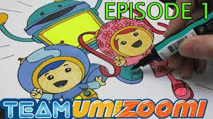 team umizoomi coloring book eposide 1