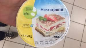 cuisine sans lactose mascarpone sans lactose migros 250 g