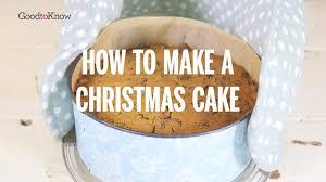 christmas cake recipe goodtoknow