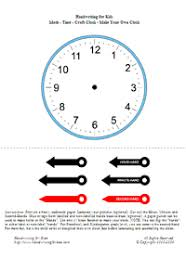 handwriting for kids manuscript clocks time telling time