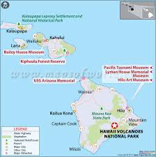 information about hawai i volcanoes national park location