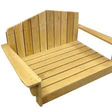 adirondack dog chair pt dogbed lg dog chair dfohome