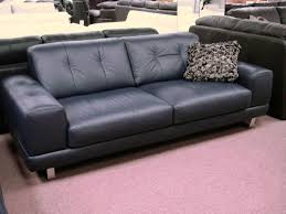 80 Leather Sofa Amazing Navy Blue Leather Sofa 80 With Additional Office Sofa