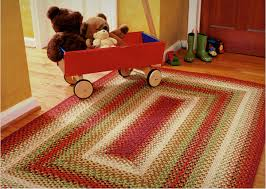 cotton braided rugs american country