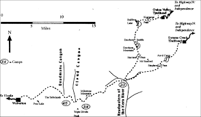 Sierra Nevada Mountains Map Sierra Nevada Haute Route 1998