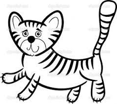 cartoon humorous illustration cute tiger coloring