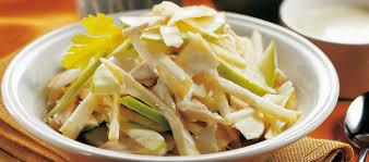 insalata di sedano e mele ricetta insalata di tacchino sedano rapa e mele cucchiaio d argento