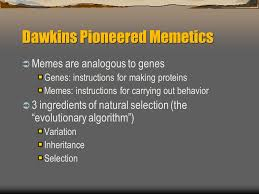 brief explanation of memetics memetics know your meme