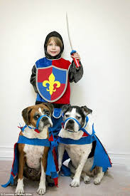 Halloween Costumes Ten Boys Boy Pet Dog Coordinate Halloween Costumes