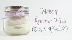 diy makeup remover wipes youtube