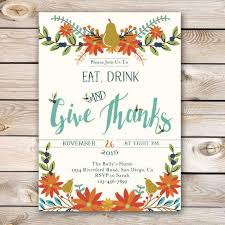 thanksgiving 2017 invitations happy thanksgiving