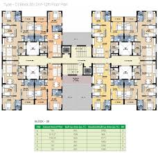 Cape Town Stadium Floor Plan by Srijan Greenfield City Elite By Srijan Realty In Behala Kolkata
